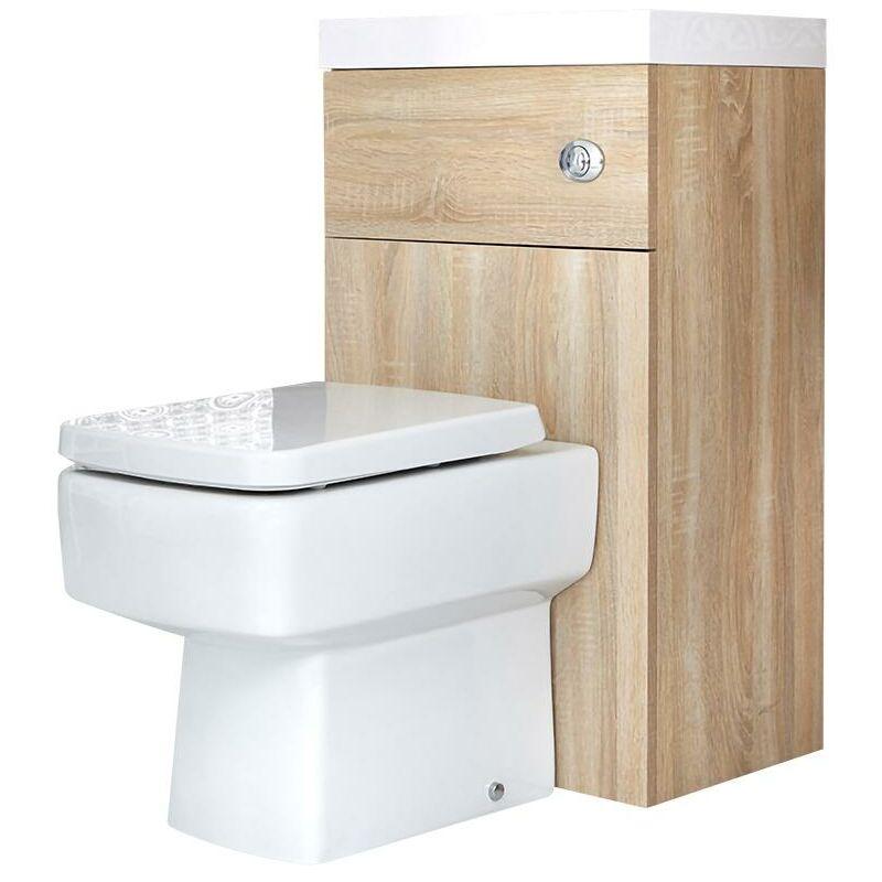 Hudson Reed Coffrage R/éservoir WC avec Lave-Mains Int/égr/é