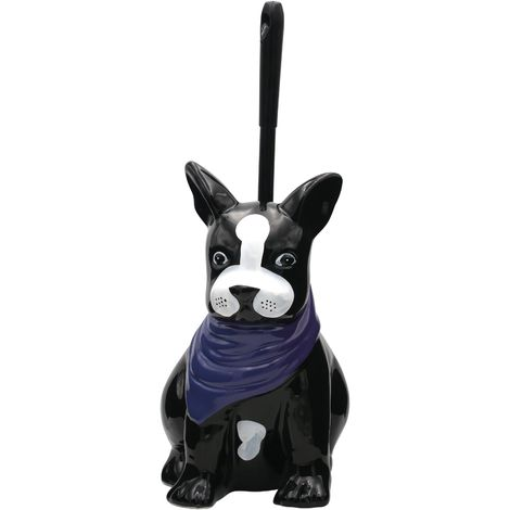 WC-Bürste Animal Dog multicolor ca. 15,5 x 20,5 x 37,5 cm