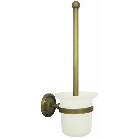 Anqitue WC Bürste Klobürste Toilettenbürste mit Behälter