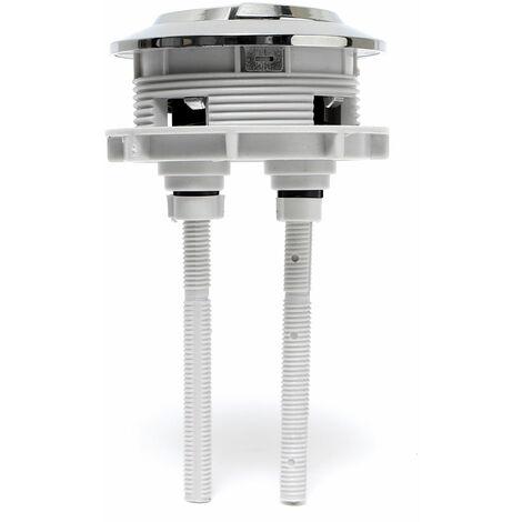WC Cisterna Reemplazo Pulsador de inodoro Tanque de descarga doble DIY58mm / 2.28 & quot;