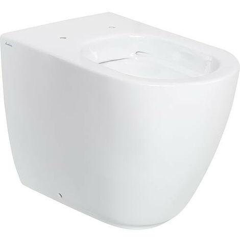 WC Fusion lxhxp: 355x410x540mm, sans rebord, en ceramique, blanc