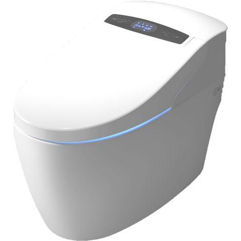WC japonais monobloc Luxe Platinium 2 Plus TopToilet - Blanc