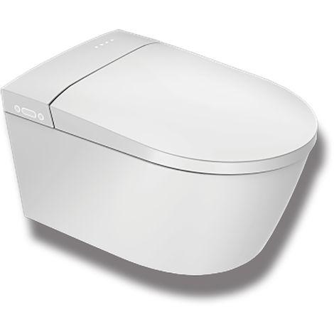 WC japonais suspendu - Suspens Crystal PLUS - TopToilet - Blanc