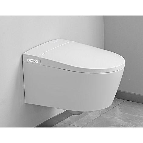 WC japonais suspendu - Suspens Crystal - TopToilet - Blanc