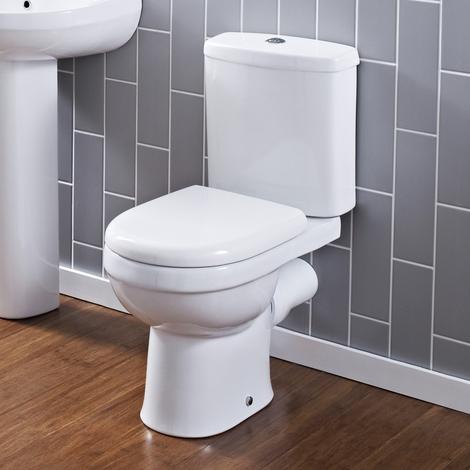 Gut bekannt WC Keramik mit WC-Schüssel und Spülkasten - NCS250 BP16