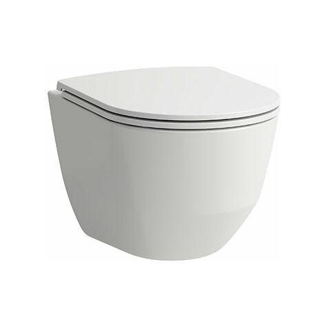 WC Laufen PRO à montage mural, sans rebord, 360x490, blanc, Coloris: Blanc avec LCC - H8209654000001