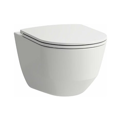 WC Laufen PRO à montage mural, sans rebord, 360x530, blanc, Coloris: Blanc avec LCC - H8209664000001