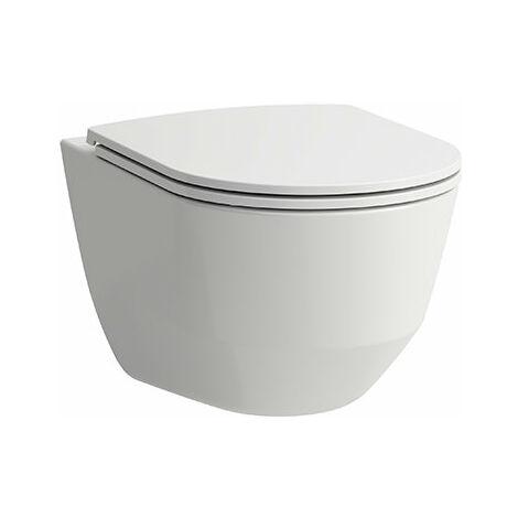 WC Laufen PRO à montage mural, sans rebord, 360x530, blanc, Coloris: Blanc - H8209660000001