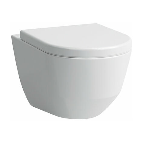 WC lavable mural Laufen PRO, fixation cachée, 360x530, Coloris: Blanc - H8209560000001