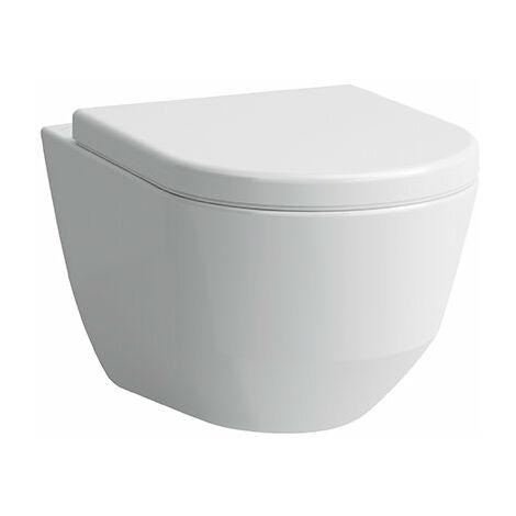 WC lavable mural Laufen PRO, fixation cachée, 360x530, Coloris: Manhattan - H8209560370001