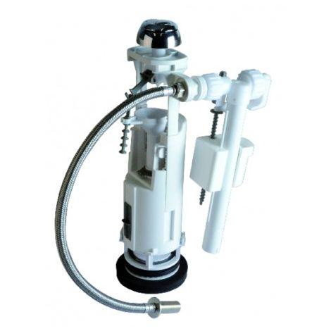 WC - Mechanismus Druckvorrichtung doppeltes Volumen und Hahn 39985011 - SIAMP: 37 9401 10