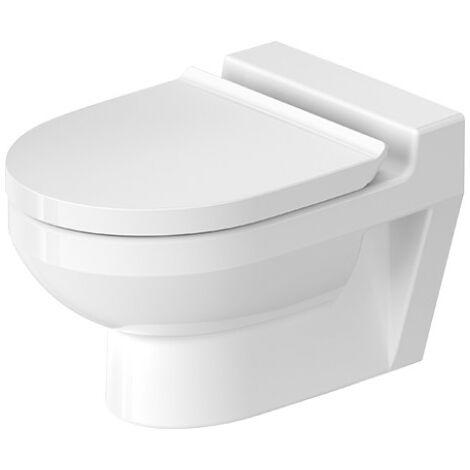 WC mural Duravit DuraStyle Basic Wash-down WC 480 mm, sans rebord, modèle pour enfants, Coloris: Blanc avec Wondergliss - 25740900001