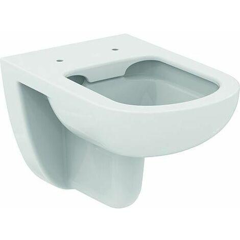 WC mural Ideal Standard Eurovit Plus, sans bord de rincage, blanc