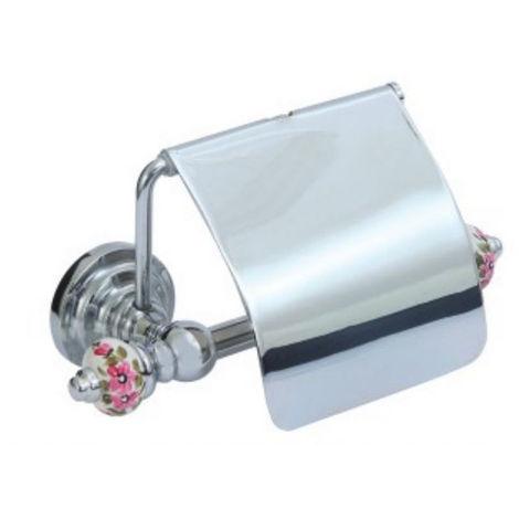 WC-Rollenhalter Porzellan Chrom 17