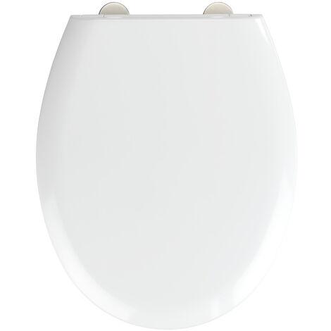 WC-Sitz Absenkautomatik Toilettendeckel Klobrille Klodeckel Toilettensitz Deckel