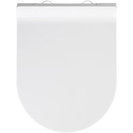 WC Sitz Toilettendeckel Klodeckel Absenkautomatik Toilettensitz Premium Habos