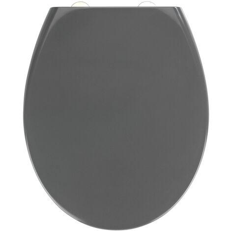Wc Sitz Toilettendeckel Klodeckel Toilettensitz Absenkautomatik Premium Grau