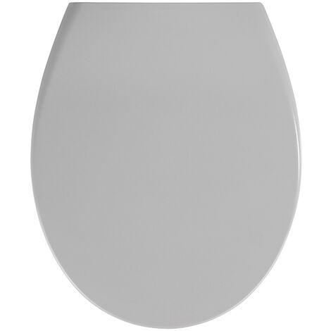 Wc Sitz Toilettendeckel Klodeckel Toilettensitz Absenkautomatik Premium Sam Grau