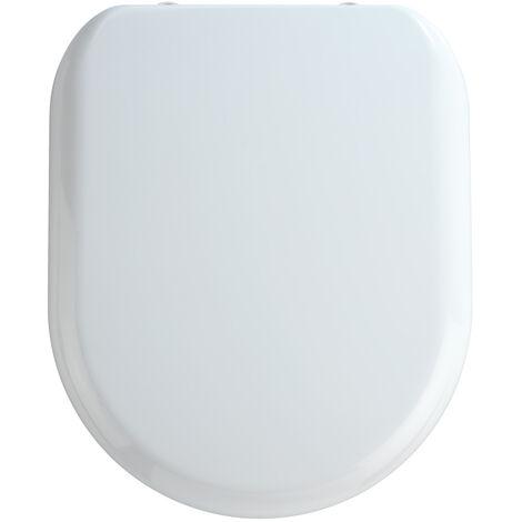 WC Sitz Toilettendeckel Klodeckel Toilettensitz Absenkautomatik Premium Santana