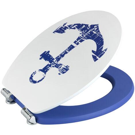 Wc Sitz Toilettendeckel Klodeckel Toilettensitz Absenkautomatik Premium Shore