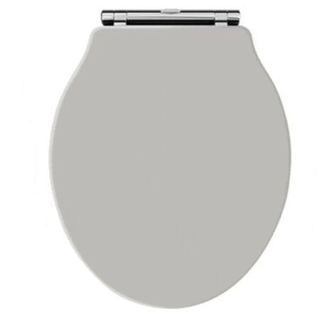 WC Sitz und Deckel für klassisches WC BERKELEY grau