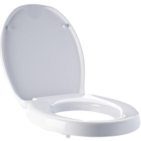 WC-Sitzerhöhung Top ca. 5 cm, mit Absenkautomatik weiß