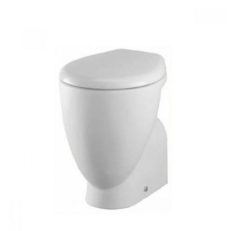 Sedile Tesi Ideal Standard Bianco Europa.Wc Small Ideal Standard Scarico A Parete Bianco Europeo Senza Sedile
