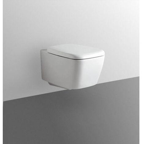 Wc Sospeso Serie Ventuno Ideal Standard Colore Bianco Europeo con Sedile