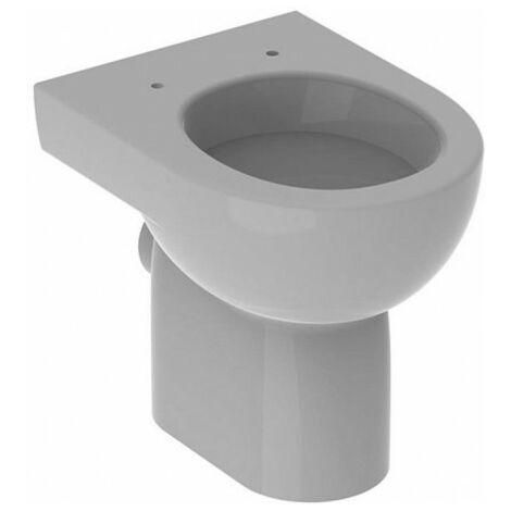 """main image of """"WC sur pied à fond creux RENOVA, sortie horizontale 4,5 / 6 l, blanc GEBERIT"""""""