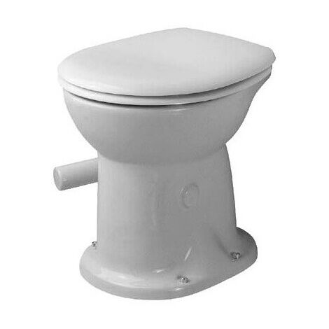 """main image of """"WC sur pied DURAPLUS sec, pour abattant, 350 x 47 blanc DURAVIT"""""""