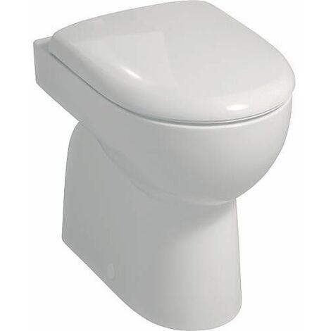 WC suspendu à fond creux, sortie intérieure verticale Renova N° 1