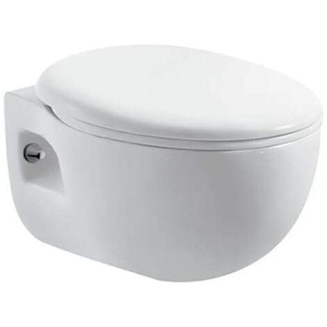 WC suspendu BATA avec reservoir, abattant amortisseur duroplast. Drainage murale