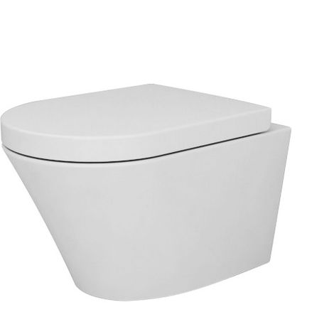 WC suspendu BERNSTEIN -  NT2040 revêtement Nano et abattant  Soft-Close
