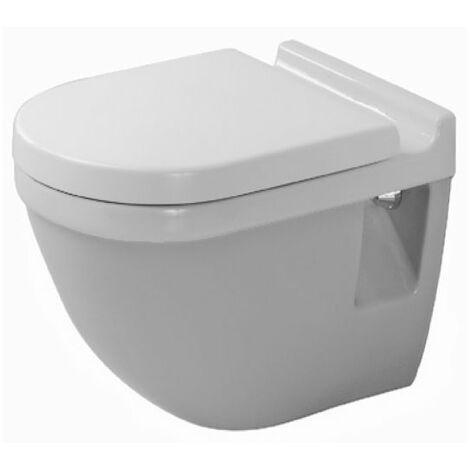 WC suspendu Duravit Starck 3 54cm lavable, Coloris: Blanc - 2201090000