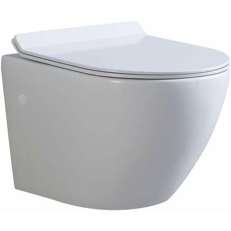 WC suspendu en céramique
