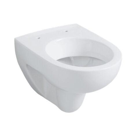 WC suspendu GEBERIT Renova Compact - Avec bride - 350x340x480 mm - 203245000