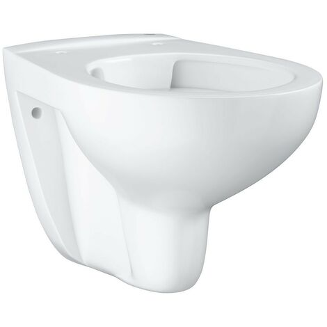 WC suspendu Grohe Bau blanc, sans bord de rincage lxpxh:368x531x363mm