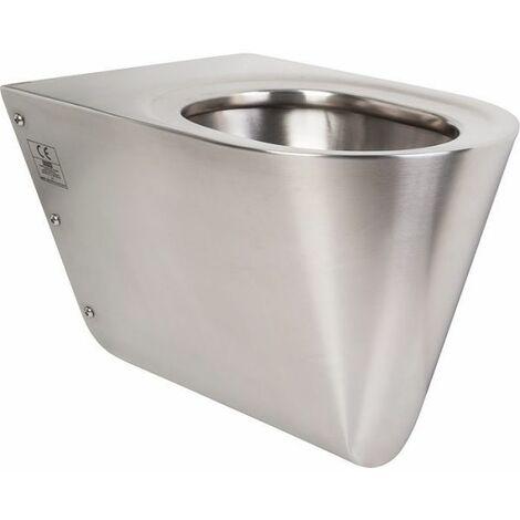 WC suspendu inox - Franke