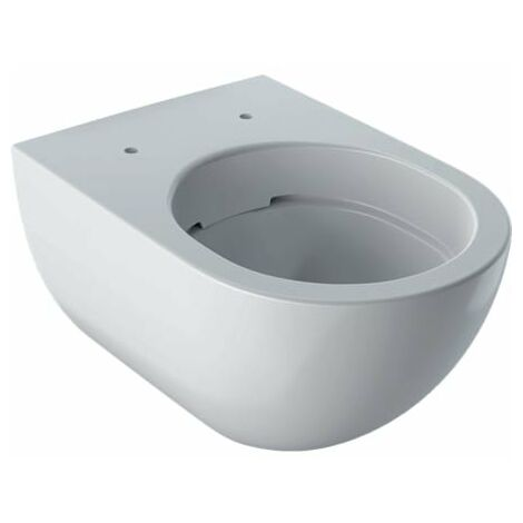 WC suspendu Keramag Acanto blanc, sans bord de rincage lxpxh: 350x540x335mm