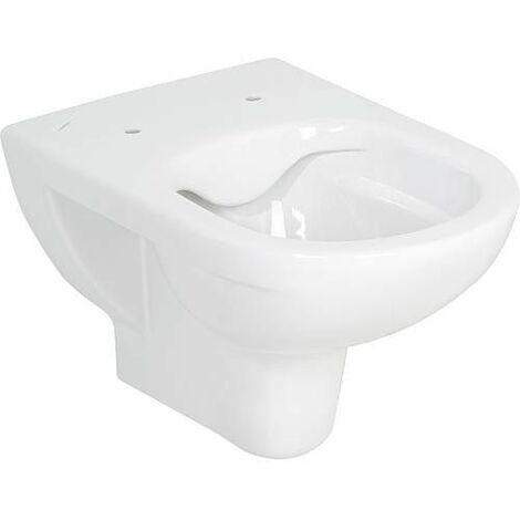 WC suspendu Laufen PRO blanc, sans bord de rincage lxhxp: 360x340x530mm