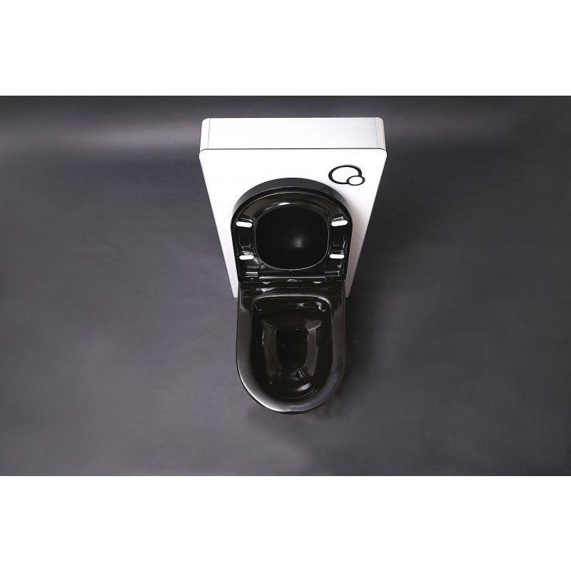 WC suspendu offre sp/éciale pack /économique 12 et b/âti-support G3004A avec plaque de d/éclenchement B-8030 Plaque de d/éclenchement:Mod/èle 4111 satin