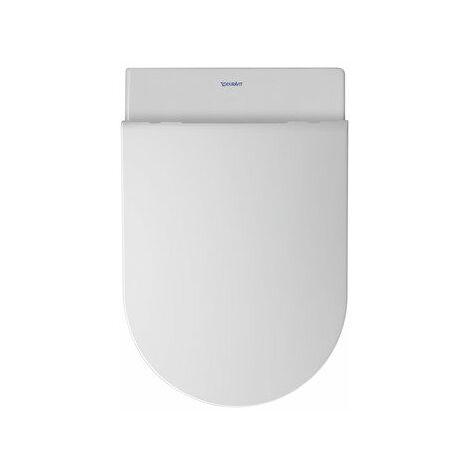WC suspendu Tulip blanc, sans rebord, sortie horizontale, 580 mm, 200109, Coloris: Blanc - 2001090000