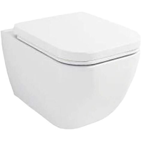 WC suspendu TUTU complet avec reservoir, abattant amortisseur duroplast. Drainage murale
