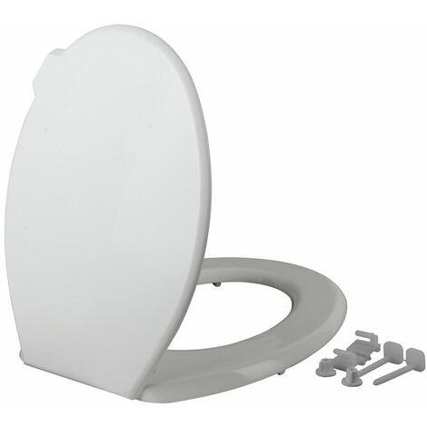 Wc - Tap de WC blanco básico - SIAMP : 95 8201 01