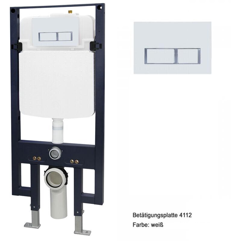 Unterputz Spülkasten 11 L Unterputzspülkasten Vorwandelement Wand WC Einstellbar