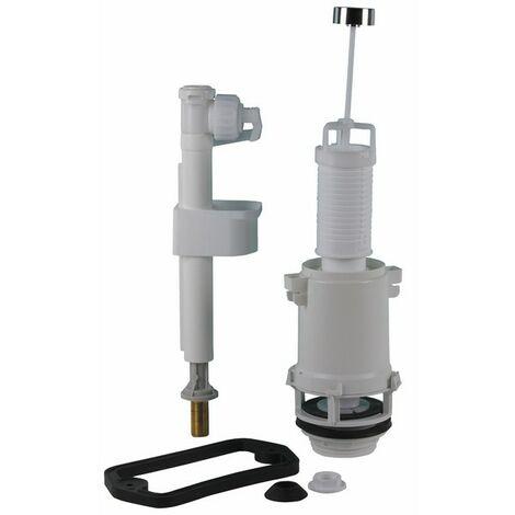 WC - Zugstangen-Mechanismus ASPIRAMBO und Ventil - SIAMP: 38 9954 10