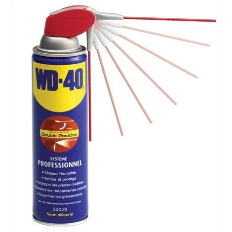 WD-40 - 500ml (Spray double position)