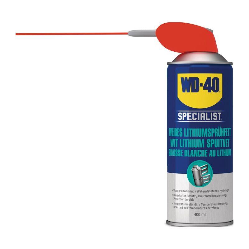 Graisse à pulvér. lithium haute perform. 400 ml couleur crème NSF H2 - Wd-40