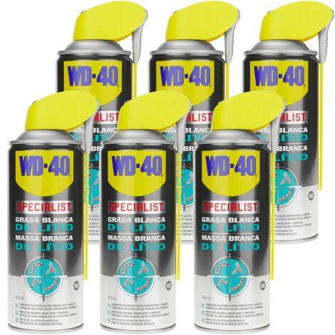 WD-40 - Grasa blanca de litio SPECIALIST 400 ml (caja de 6 uds)