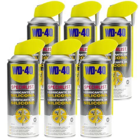 WD-40 - Lubricante de silicona SPECIALIST 400 ml (caja de 6 udes)